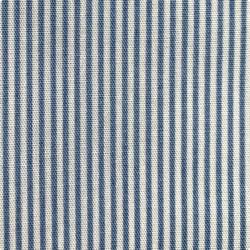 Японский принт хлопок синие «Полосы»