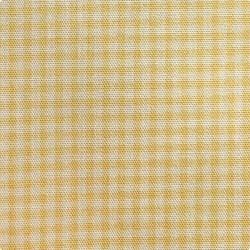Японский принт хлопок желтая «Клетка»