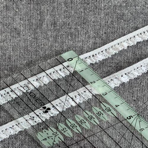 Кружево «Рюш» 9 мм (34.76А)