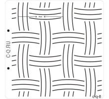 Шаблон для стёжки 8