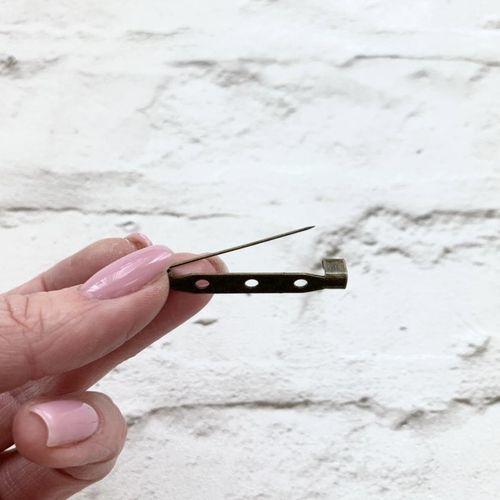 Булавка для броши 35 мм
