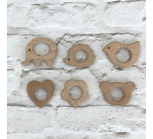 Деревянная основа для создания игольницы