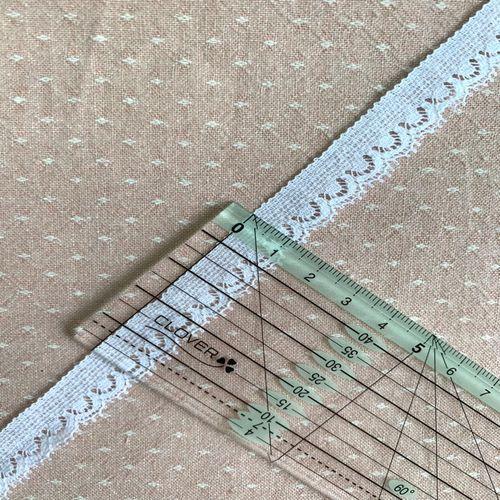 Французское кружево «Валансьен» 13 мм (21-1)