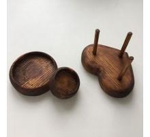 Основа для игольницы из дерева 45 мм