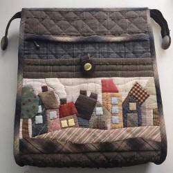 Набор для творчества сумка «Домики»