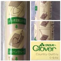 Шаблон для нанесения рисунка на ткань CLOVER